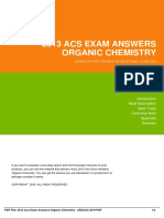 ID91c8ad2d6-2013 acs exam answers organic chemistry