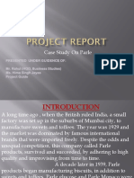 Parle Project Ppt