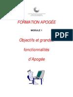 Guide Apogée