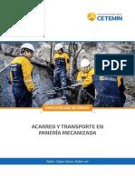 08b - Acarreo y Transporte en Minería Mecanizada - Tem
