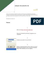 Como Abrir Qualquer Documento de Texto
