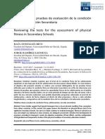 Pruebas de Evaluacion Fisica Ed Secundaria Valladolid