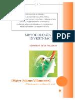 2 Glosariodemetodologadelainvestigacinjulianavillamonte 120411125023 Phpapp02