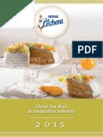 Calendario La Lechera 2015- Nestle