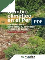 Cambio Climático en el Perú