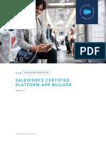 Sg Certified Platform App Builder