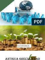 Precursores de La Economía..