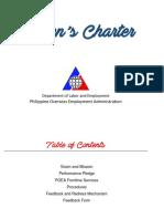 POEA Citizen Charter