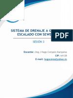 SISTEMA DE DRENAJE A GRAVEDAD ESCALADO CON SEWERCAD- SESIÓN 3.pdf