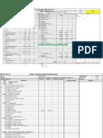 Working Budget Sample