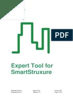 Expert Tool for SmartStruxure Solution - User Guide