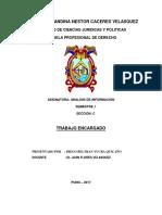 Trabajo de Diego Beltran Yucra Quicaño - ANALISIS de INFORMACION - Copia