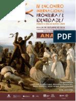 IV Eifi - Anais do Encontro Internacional Fronteiras e Identidades