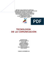 Tecnologia de La Comunicacion(Trabajo)