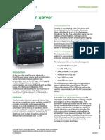 Automation Server Specification Sheet - SmartStruxure Solution