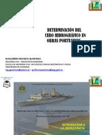 DETERMINACION DE CERO HIDROGRAFICO EN OBRAS PORTUARIAS.pptx