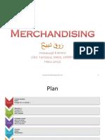 Merchandising cours