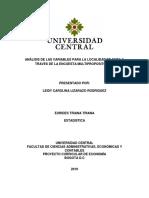 Informe Estadistica I
