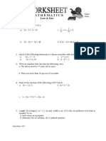 Worksheet Leov&Liov