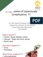 Laparoscopy Complication 2016