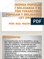 Diapositivas de La Ley Eco. Solidaria43