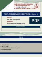 Trabajo N°02- Montaje Industrial ( Rayos x).
