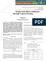 Analysis of Steady State Heat Conduction Through Tapered Section IJERTV5IS100171