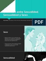 Diferencia Entre Sexualidad, Sensualidad y Sexo