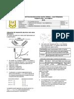 Prueba Diagnostica Quimica Grado Decimo