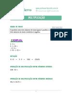 01 - Multiplicação e Divisão - Teoria