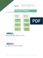 02 - Expressões Numéricas - Teoria.pdf