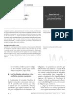 López (2011). Los Conflictos Sociales Candentes en El Aula