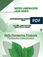 Haifa Colombia Multicote Febrero 2019