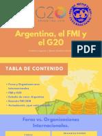 Argentina, El FMI y El G20