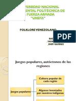 Universidad Nacional Experimental Politécnica de La Fuerza Juegos Populares