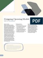 Designing Operating Models OVERVIEW SC_2019