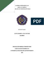 307413338 Laporan Pendahuluan Kista Ovarium Docx