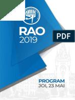 RAO2019 Program
