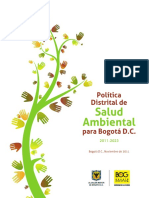 POLITICA DISTRITAL DE SALUD AMBIENTAL PARA BOGOTÁ D.C..pdf