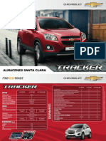 Chevrolet Catalogo Tracker