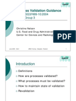 Process Validation Guidance