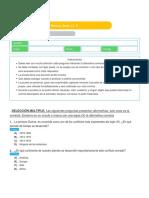 Evaluación de diagnóstico - 3°  - Historia, Geog. y C. S.