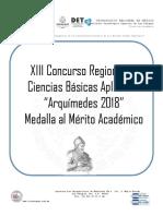 Arquímedes 2018