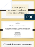 Manual de Gestión- Socio Ambiental