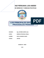Principales Sistemas Procesales Penales