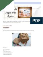 Máquina de Fazer Pão & Cia_ Pão Integral