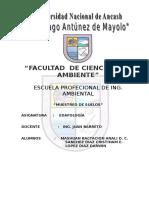 PRACTICA DE CAMPO-EDAFOLOGÍA