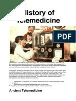 History of Telemedicine.docx