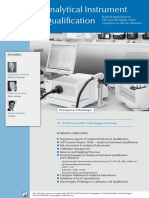 ECA Analytical Instrument Qualification