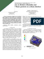 InvestigationonRelativeHumidityandCondensationofWaterparticlesinaHomeKitchenIJAER1